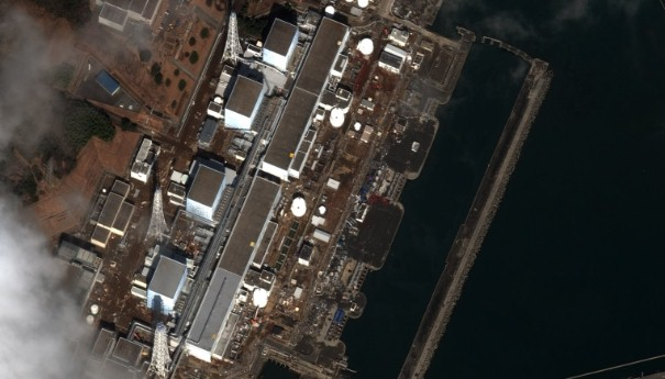 Earthquake and Tsunami damage, Japan-March 12, 2011: This is a satellite image of Japan showing damage after an Earthquake and Tsunami at the Fukushima Dai-Ichi Nuclear Power plant. (credit: DigitalGlobe) www.digitalglobe.com